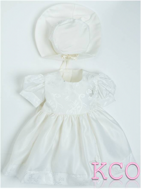 Style B1011 Dress Ivory ~ girls dress